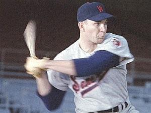 Harmon Killebrew, playing for the Washington Senators in 1957