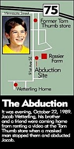 Jacob Wetterling Abduction Map