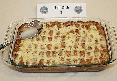 Amy Klobuchar's winning hot dish