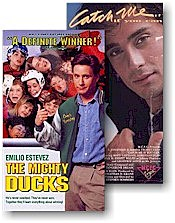 Mighty Ducks, Catch Me If You Can VHS tapes