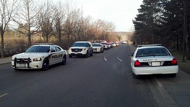 Police Car Procession