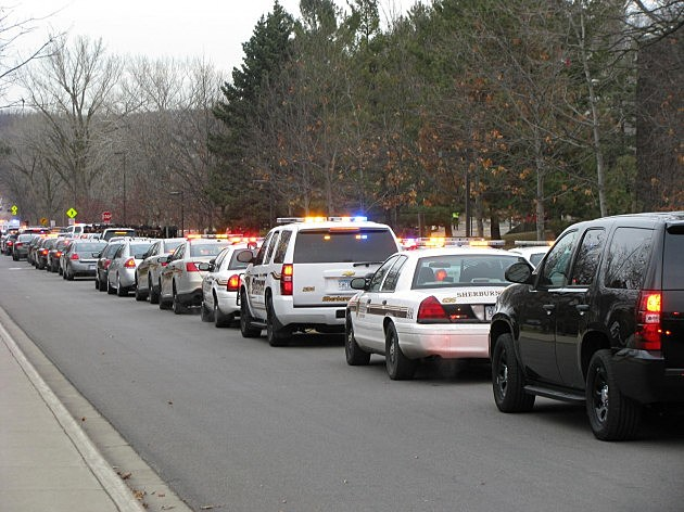 Hundreds of law enforcement officers attend funeral services for slain Cold Spring Policeman Tom Decker