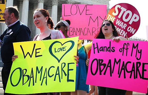 Obamacare rally