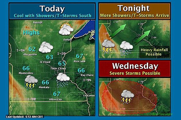Minnesota Memorial Day Weather Story