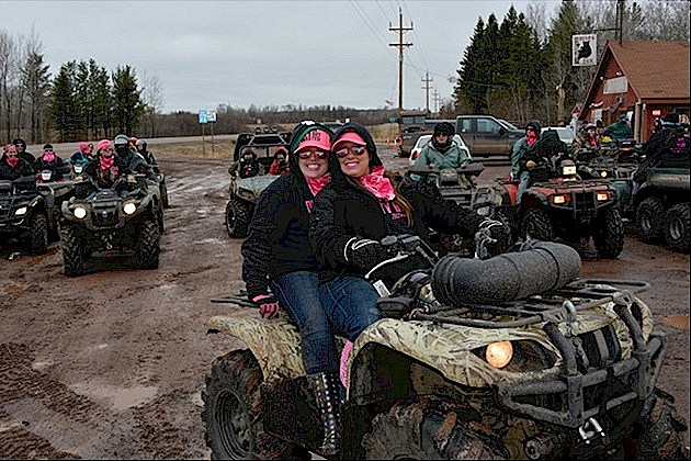 Chicks on ATVs