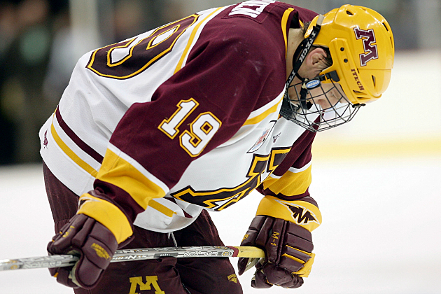 Gopher Hockey Picks Up Victory Over Minnesota State Mankato Gopher Hockey