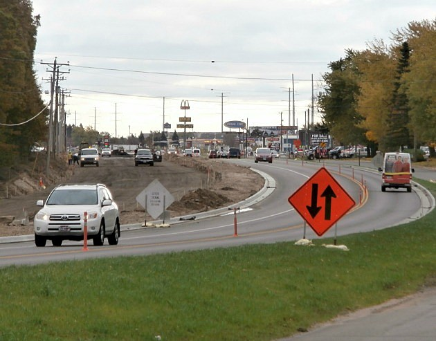 County Road 75 construction project