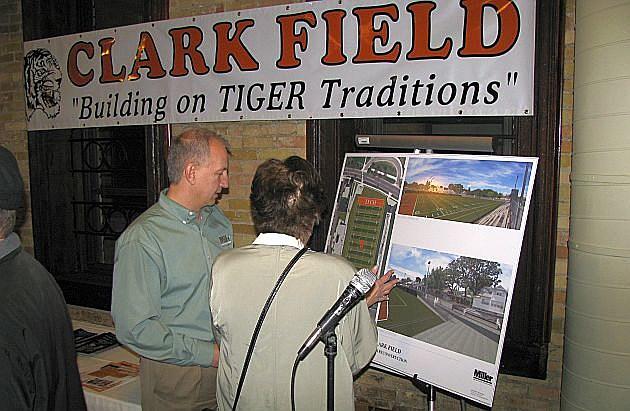 Clark Field Renovation, Photo by WJON.com's Jim Maurice