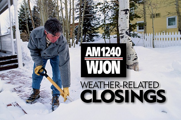WJON Weather Closings