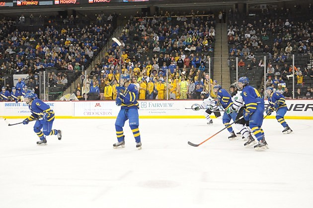 Cathedral Hockey Semi Final State Tournament Game Against East Grand Forks
