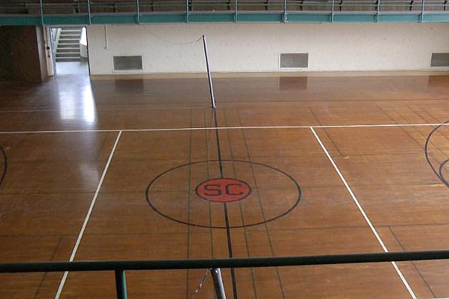 Eastman Hall Basketball Court