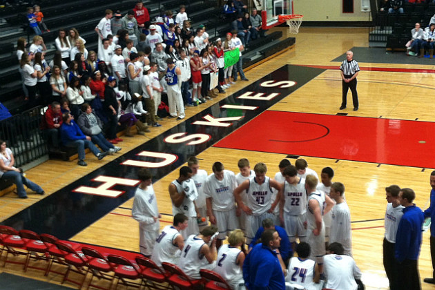 Prep Basketball - Halenbeck Hall