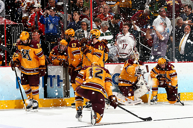 Minnesota Gophers Come Up Short Against Union in NCAA ... Gopher Hockey