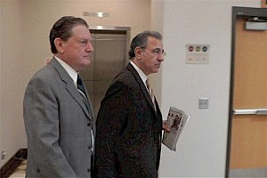 Byron Smith and his lawyer Steven Meshbesher