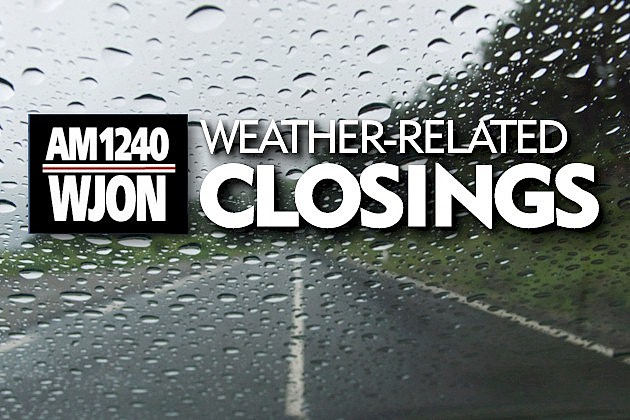 Summer Weather Closings