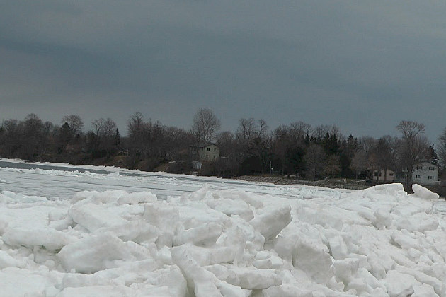 Walls of ice from lake mille lacs crashing into homes and for Mille lacs ice fishing report