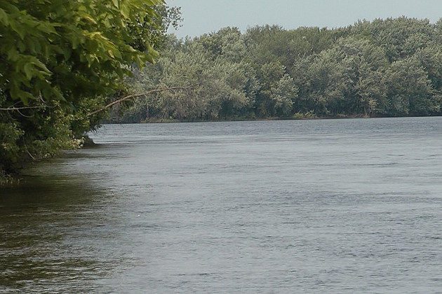 Mississippi River in Clearwater Photo: Joshua Akkerman, WJON News