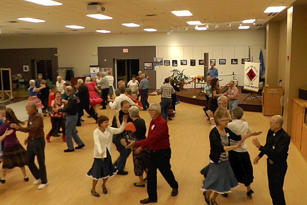 frozen in time square dancing at st cloud whitney center. Black Bedroom Furniture Sets. Home Design Ideas