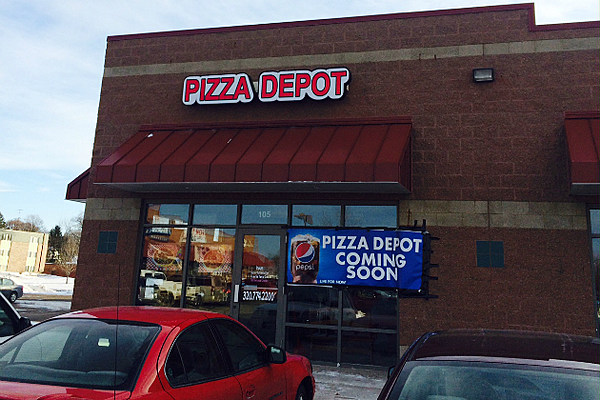 Pizza depot opening location in st cloud for Home depot 600 exterior street