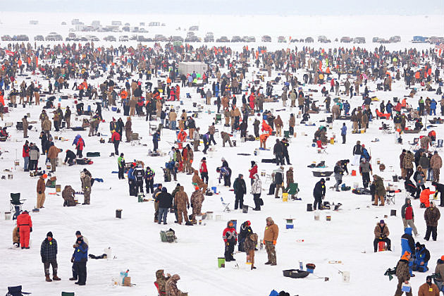 Brainerd prepares for 25th ice fishing extravaganza audio for Ice fishing guides minnesota