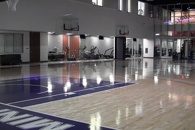 The new practice facility for the Timberwolves and Lynx. (Photo: Alex Svejkovsky, WJON)