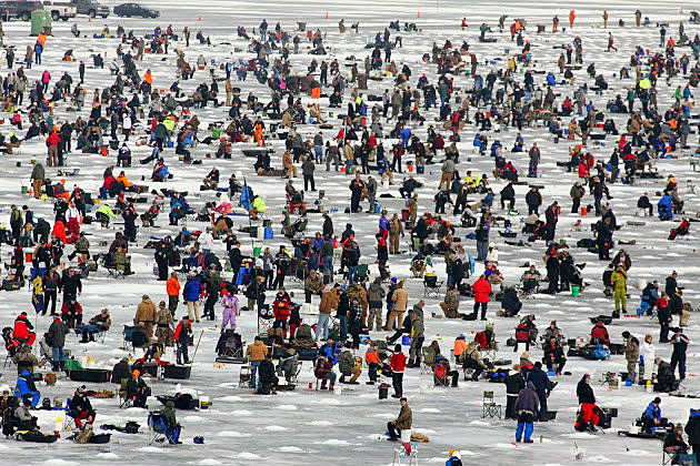 Annual ice fishing extravaganza postponed for Ice fishing extravaganza