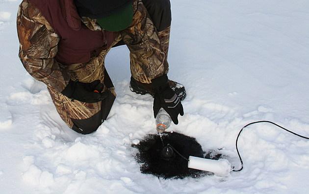 Jerry Carlson_Winter Pan Fishing