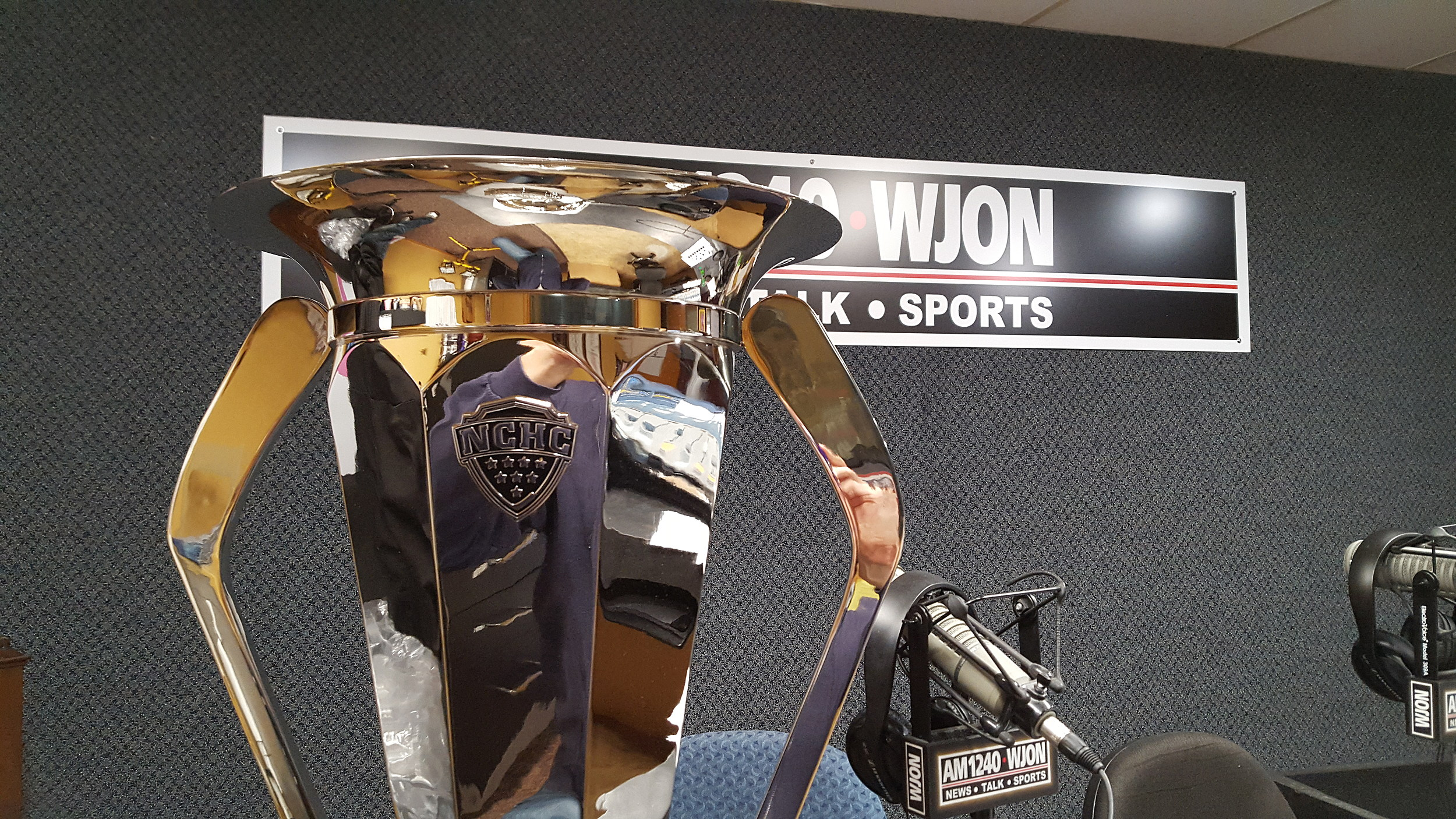 NCHC: Conference Tournament Trophy Stop In St. Cloud (audio)