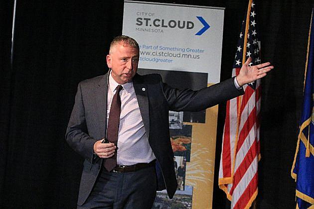 St. Cloud Mayor Dave Kleis, photo courtesy of Brad Veenstra