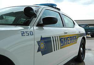 A Calcasieu Parish Sheriff's Department patrol car, Lake Charles, La.