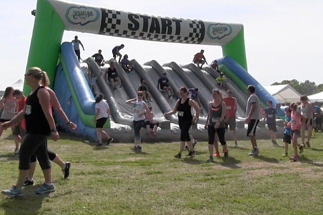 St Cloud Gets Crazy For Insane Inflatable 5k Video
