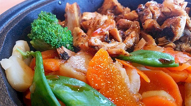 Yakitori Chicken Bowl at Pacific Wok in St. Cloud (PHOTO: Tim Lyon, Townsquare Media St. Cloud)