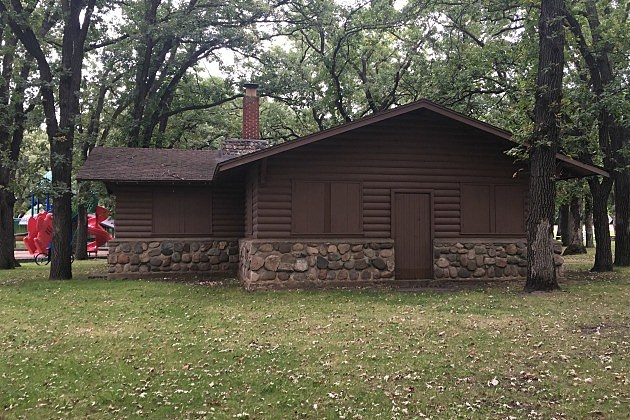 Sauk Rapids Municipal Park Log Building, (Chrissy Gaetke, WJON)