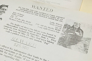 An old FBI news release on the Williams-Winans murders