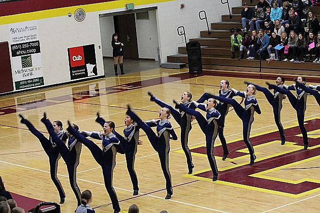 Tech Tigers Dance Team, photo courtesy of St. Cloud Technical High School
