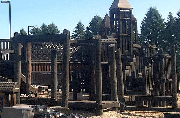 Current Dream Catcher playground, photo courtesy of Holdingford schools