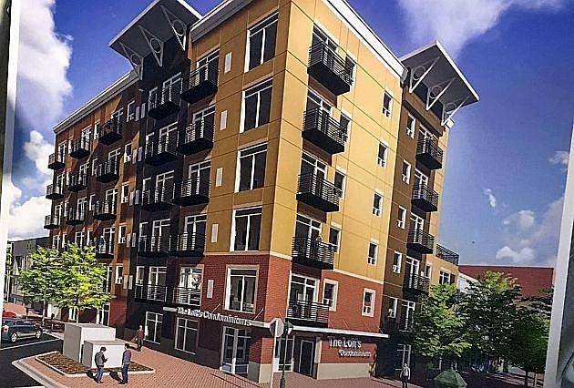 Lofts Condominiums, photo by WJON.com's Jim Maurice