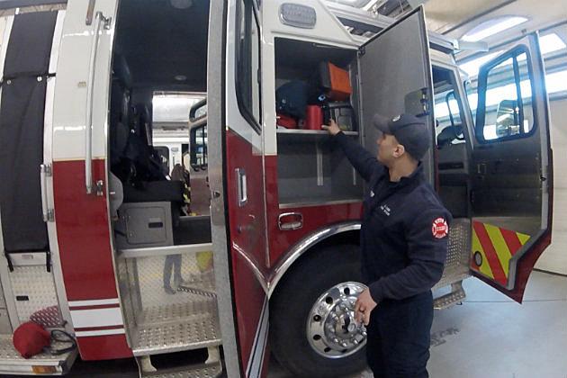 Derek Metzger, St. Cloud Firefighter (Chrissy Gaetke, WJON)