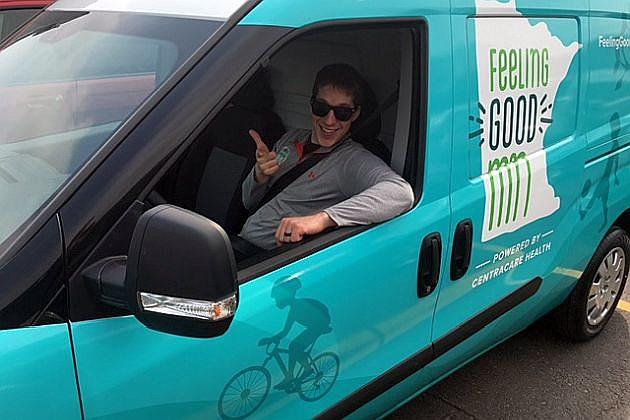 Health Hero Vehicle, photo courtesy of Feeling Good MN