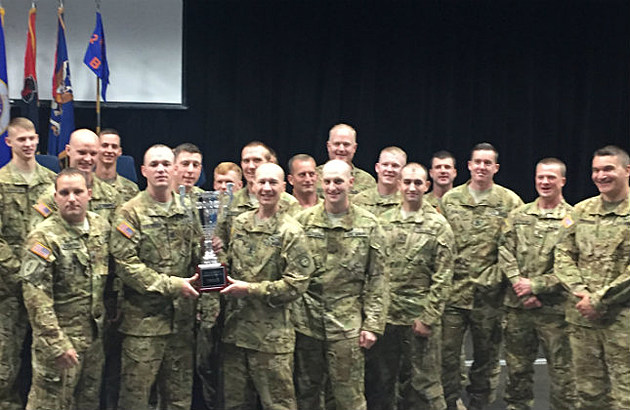 Minnesota National Guard Company B, 2-211 General Support Aviation Battalion (Justin LaBounty WJON)