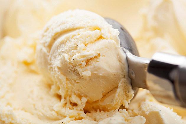 scoop of vanilla ice cream