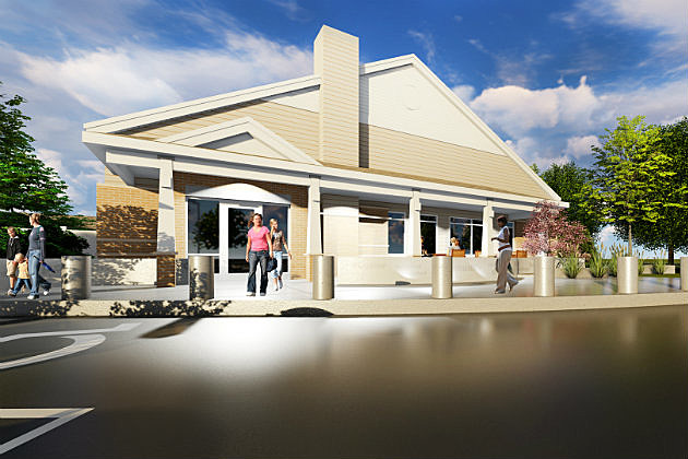 Rendering of Anna Marie's Center for Family Peace (Photo Courtesy of Anna Marie's Allaince)