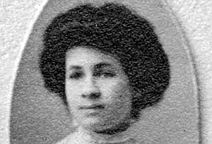 Ruby Cora Webster, photo courtesy of SCSU Archives