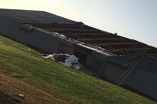 Melrose storm damage, photo by Ashley Klaphake