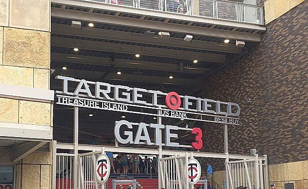 Target Field, photo by WJON.com's Jim Maurice
